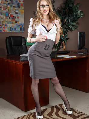 Shawna Lenee Gets Crazy In Her Office