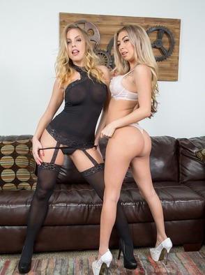 Britney Amber And Kat Dior