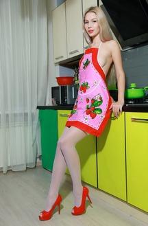 Genevieve Gandi In The Kitchen