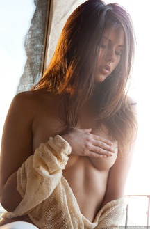 Beautiful Shyla Jennings Stripping In Sunlight