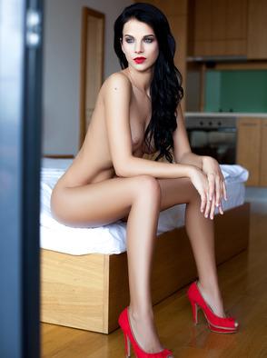 Skinny Brunette Girl Sophie