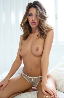 Katia Martin Sexy Playboy Debut