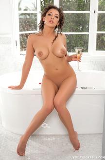 Sexy Brunette Cybergirl Kelsi Shay