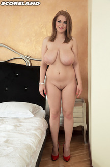 Romanian Boobed Girl Erin Star Shakes Her Tits