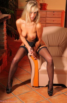 Mistress Miela In Black Stockings
