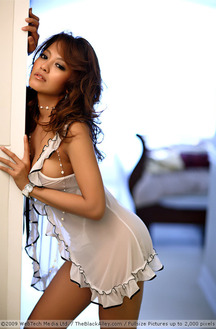 Hot Asian Girl Karen Shows Her Big Boobs