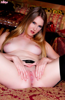 Sexy Ashley Lane In Hot Stockings Pantyhose