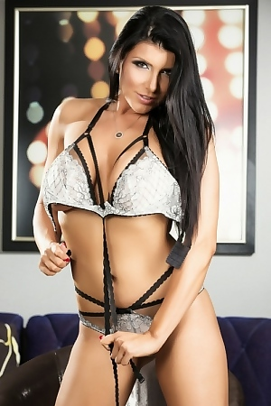 Romi Rain Looking Sexy In Lingerie