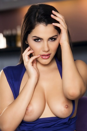 Valentina Nappi In Blue Bodysuit