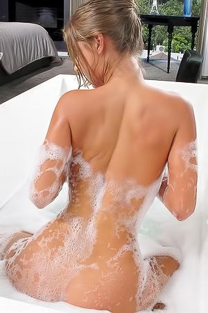 Presley Hart Erotic Bath