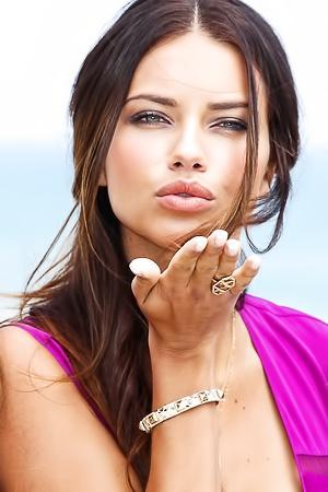 Top Supermodel Adriana Lima Wears Premium Bras