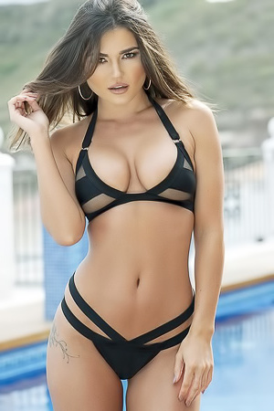 India Reynolds Various Topless Scans