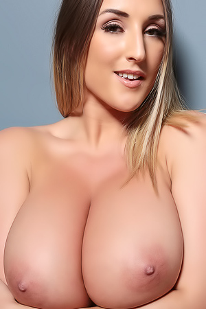 Stacey Poole Flashing Her Petite Size