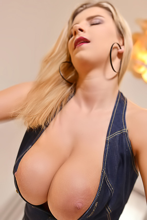 Katerina Hartlova Bounces Beautiful Natural Tits