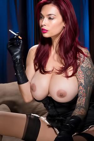 Busty Redhead Tera Patrick