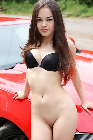 Li Moon With A Mustang