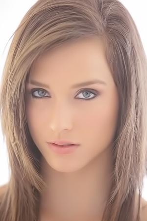 Adorable Brunette Babe Malena Morgan
