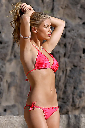 Amy Willerton In Bikini