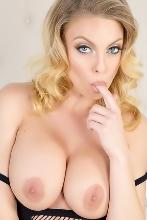 Britney Amber Hot Body Sheer Stockings