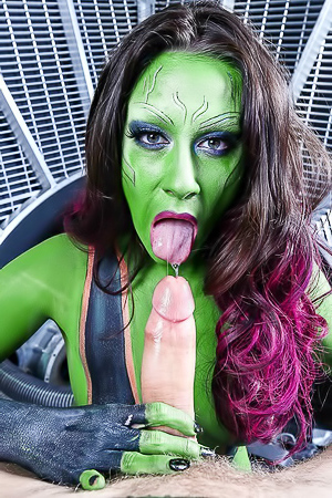Cassidy Klein In Guardians Of The Gonads XXX Parody