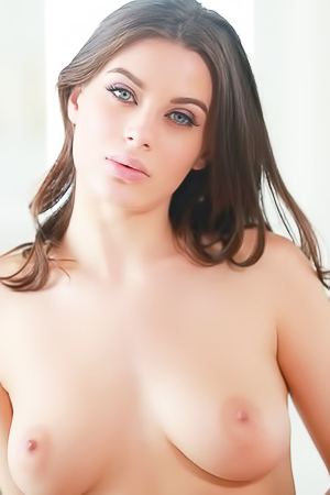 Sexy And Busty Lana Rhoades Strips To Naked