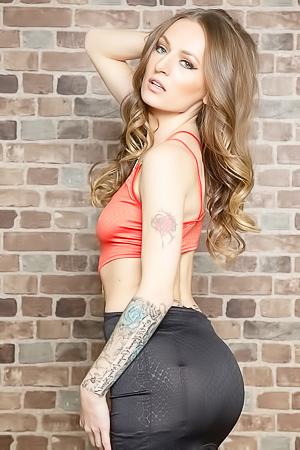 Sexy Natasha Starr In Black Stockings