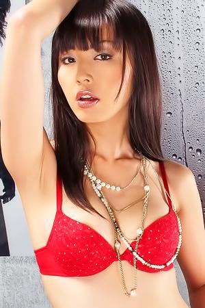 Merica Hase masturbating