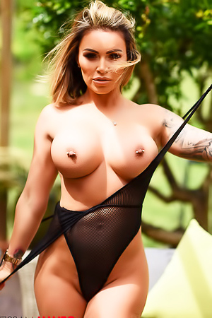 Huge Boobs Girl Gemma Massey In Bodysuit