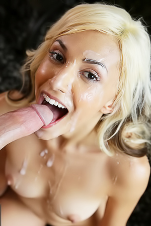 Step Sister Hime Marie Gets Cum All Over Her Face