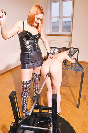 Eva Berger and Linda Brugal Bdsm Newbie Humiliated