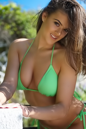 Brook Wright Is Lovely In Lime